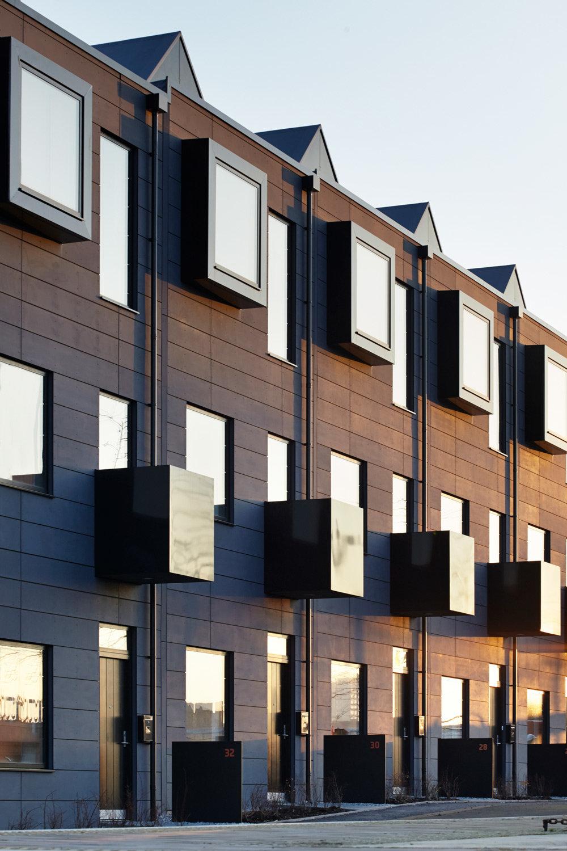 House New Islington Rowhouses Manchester Idealcombi Uk
