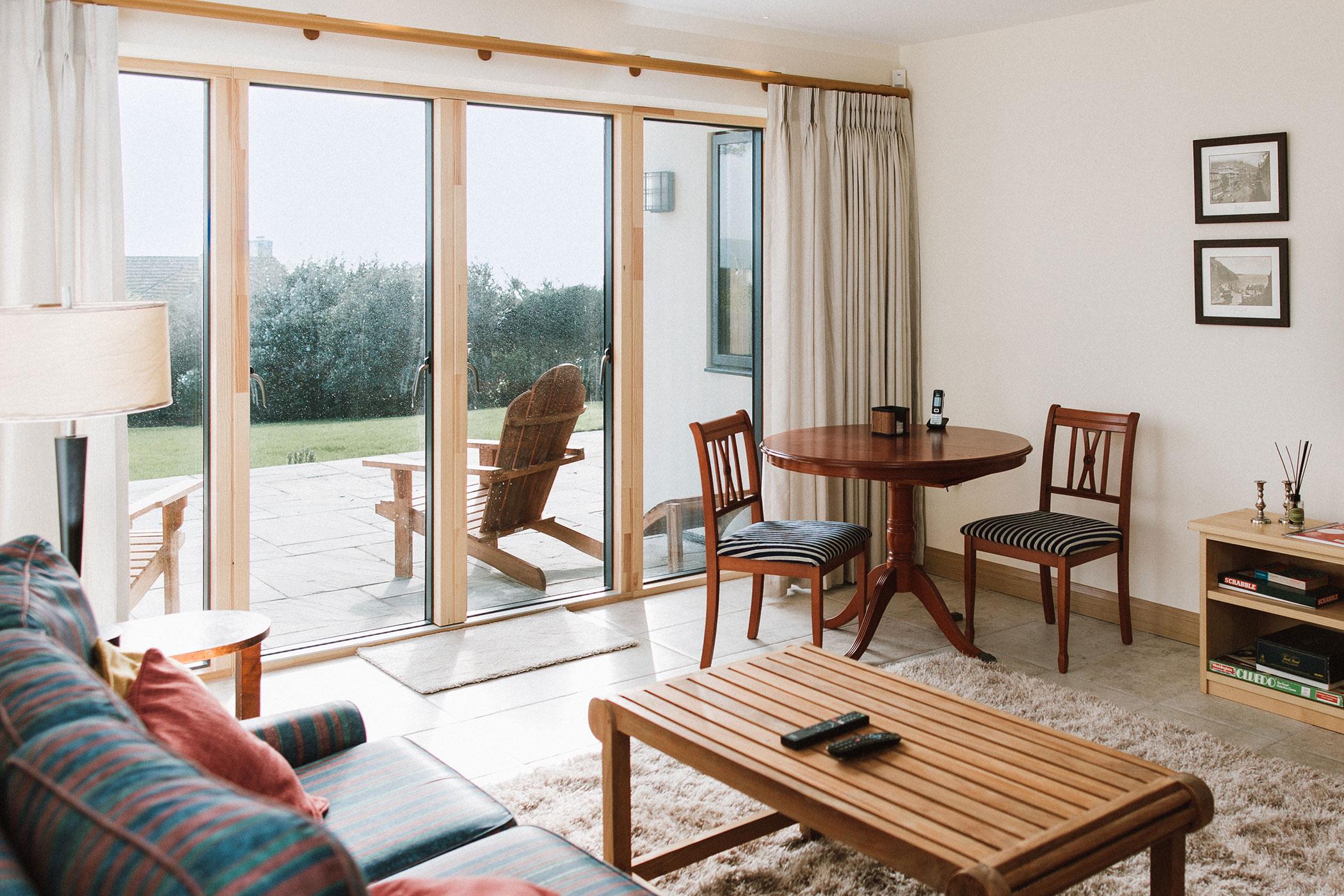 Summerstrand Idealcombi Double Sliding Door In Living Room