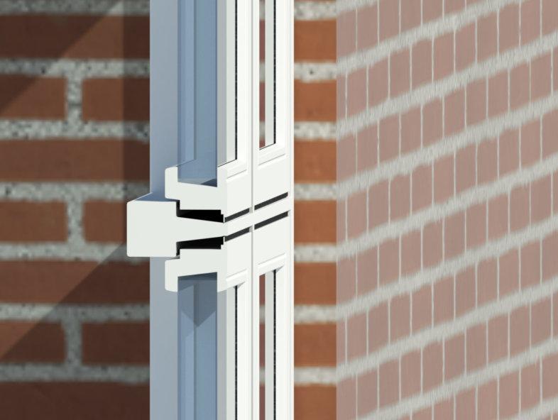 Revit files/BIM object for Idealcombi windows and doors