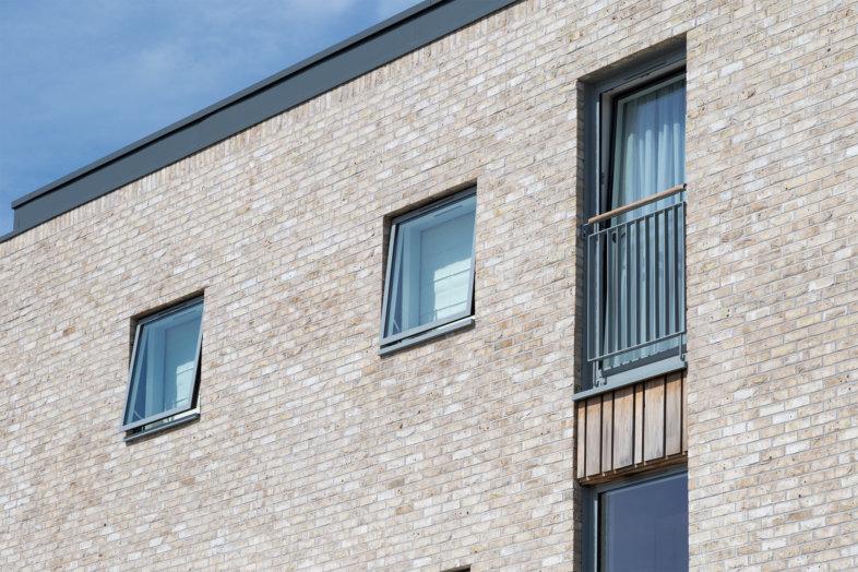 Idealcombi Futura I Inward Opening Window Used For A Juliet Balcony