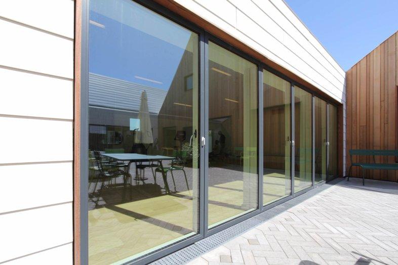 Outward Opening Terrace Doors From Idealcombi Uk