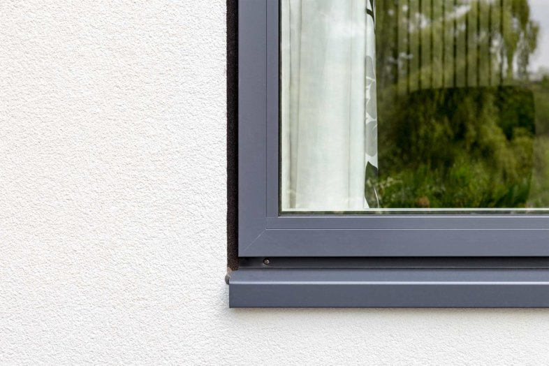 Outward Opening Windows 53mm Powder Coated Aluminium Profiles